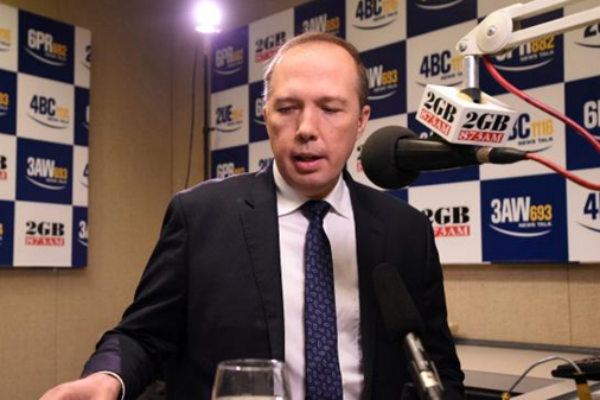 Article image for Peter Dutton: Forcing migrants to speak English is a 'no-brainer'