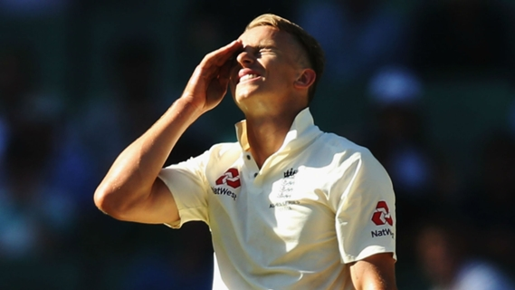 Article image for I get to get my first wicket twice! Curran upbeat after no-ball woe