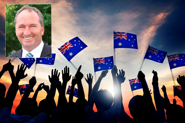 Barnaby Joyce slams The Greens: 'They can sit in the corner and suck their thumbs'