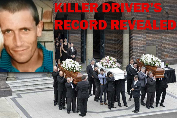 Article image for Falkholt family killer was a habitual offender   'He was definitely a risk'