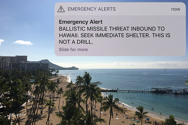 Does Australia have a missile warning system?