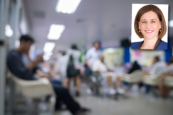 Frecklington says government 'has no clue when it comes to health systems'
