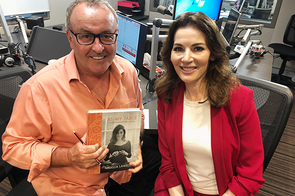 Article image for Nigella Lawson joins Chris Smith live in studio