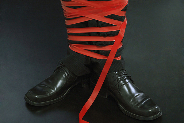 Red tape is suffocating our country