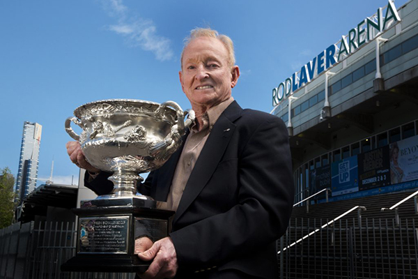 Special Australia Day guest: Rod Laver