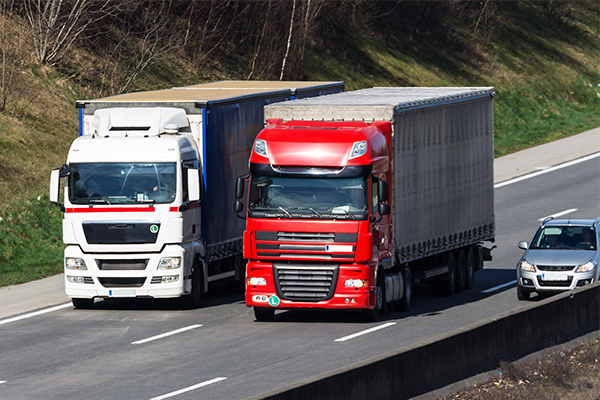 Article image for Is there a problem with the trucking industry?