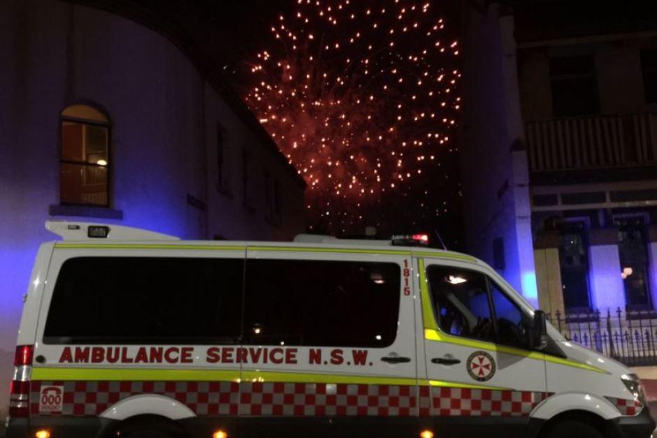 NSW Ambulance NYE success