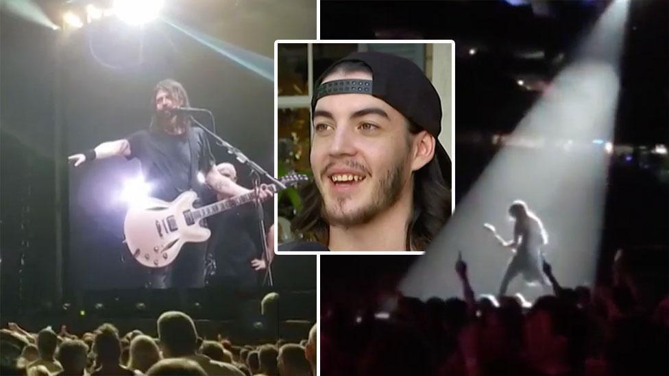 Foo Fighters dream comes true