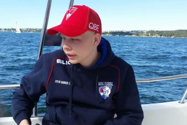 Article image for Rare cancer claims the life of inspiring young athlete