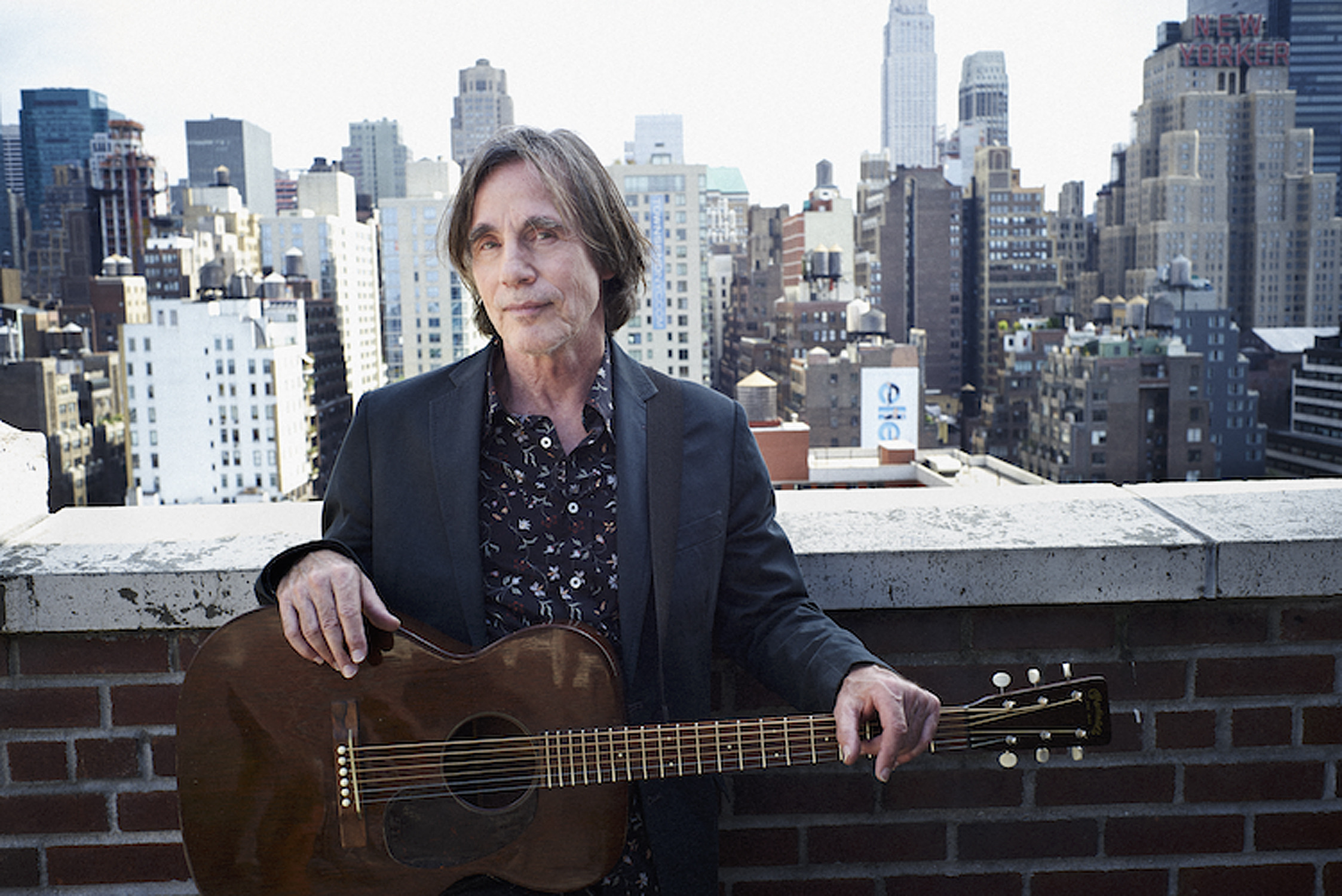 Legendary rocker Jackson Browne really likes Australia!