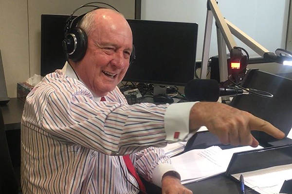 Article image for VIDEO: Alan Jones confronts his greatest fear
