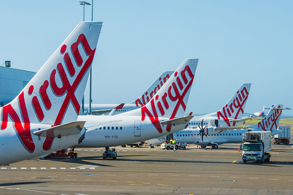Article image for Virgin to slash 750 jobs after $349 million full-year loss