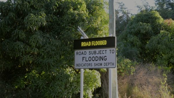 How to stop drivers going through flooded roads