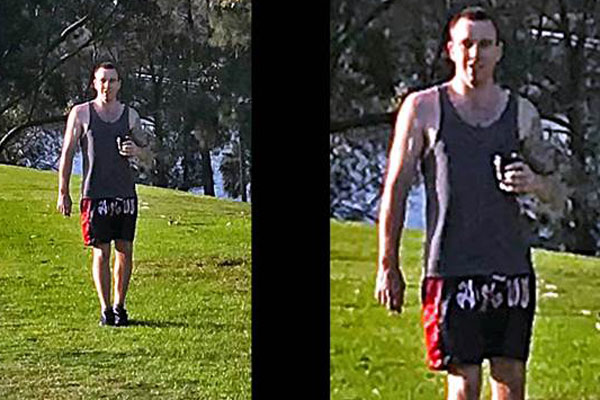 Article image for Police release images of man after three assaults on the Bay Run