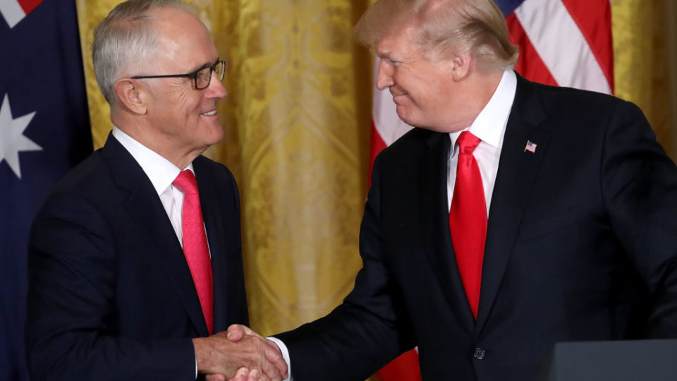 Turnbull in the US