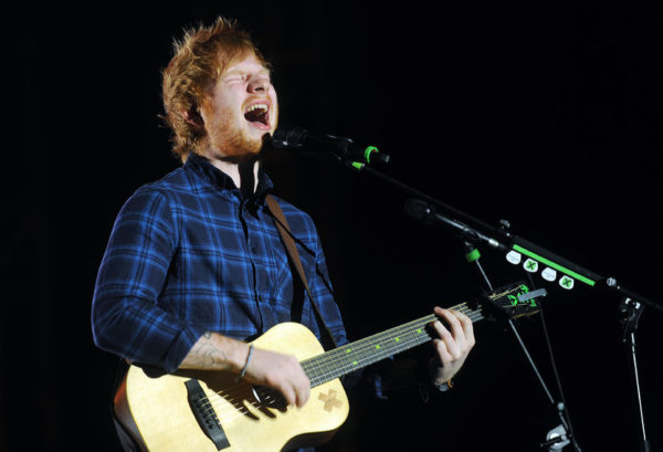 ED SHEERAN helps curb cyberbullying