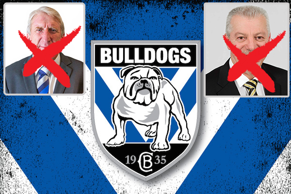 Article image for Bulldogs dump club legends for a bankrupt who's banned from the game