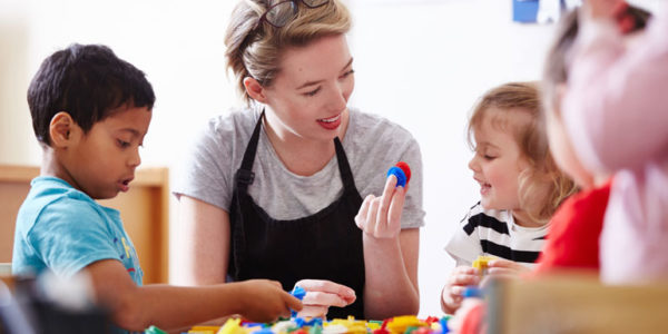 Childcare strikes for high wages