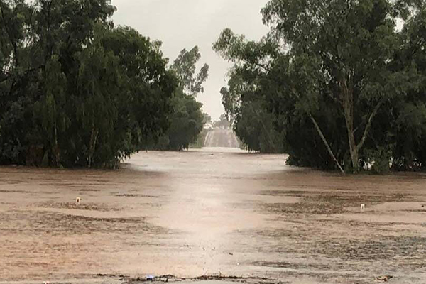 Queensland towns saved by drought-breaking rains