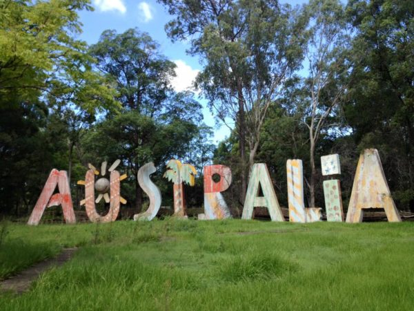 Expo 88 'Australia' signs have new home
