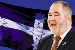 QLD Teachers Union align with Eureka Flag