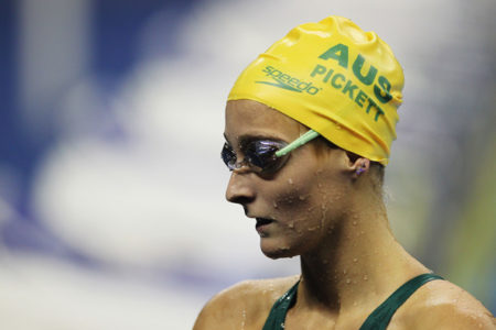 Swimmer Leiston Pickett set for three in a row