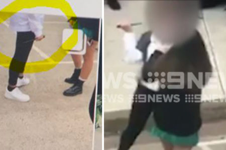 Principal blames kids for leaking knife video to the media