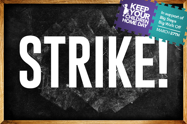 Article image for Thousands of childcare workers striking across the country