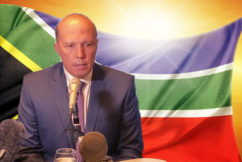 Dutton slams ABC and 'crazy lefties' over white farmer criticism