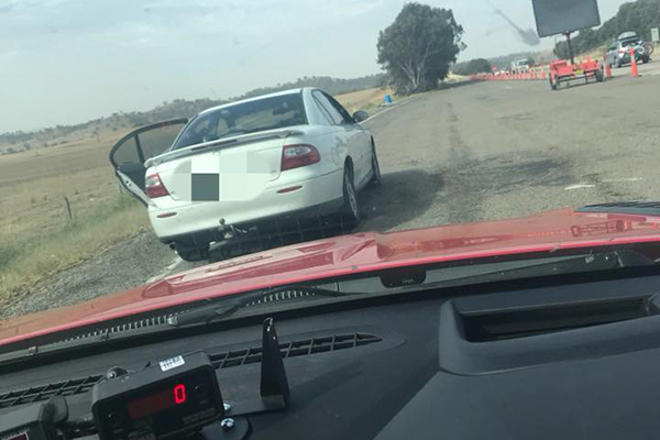 Article image for Suspended driver caught speeding twice in one day with 2yo in backseat