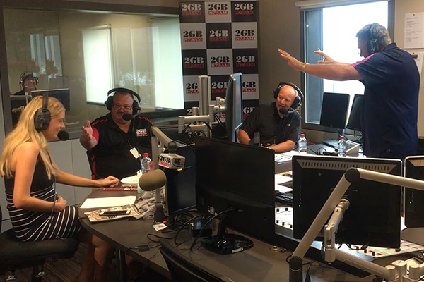 Article image for VIDEO | Erin Molan's maternity leave plan has everybody in stitches