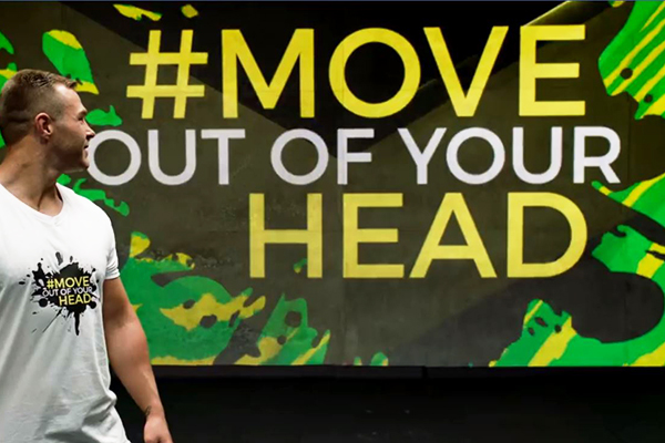 NRL star launches unique mental health campaign