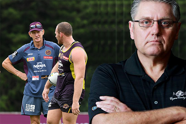 Article image for Ray Hadley criticises Wayne Bennett's defence of Matthew Lodge