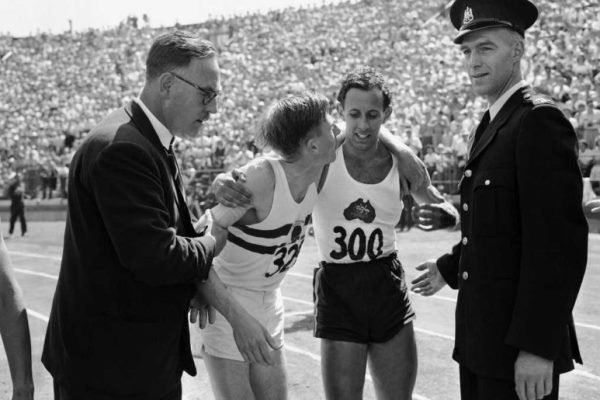 Aussie legend pays tribute to his greatest rival, Sir Roger Bannister