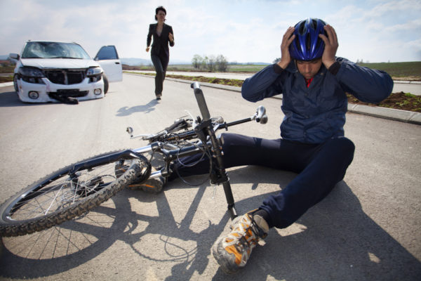 A bicycle law where driver always guilty