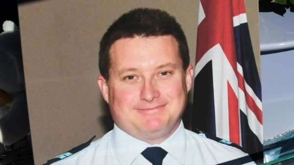 Bravery medal for fallen officer Senior Constable Forte