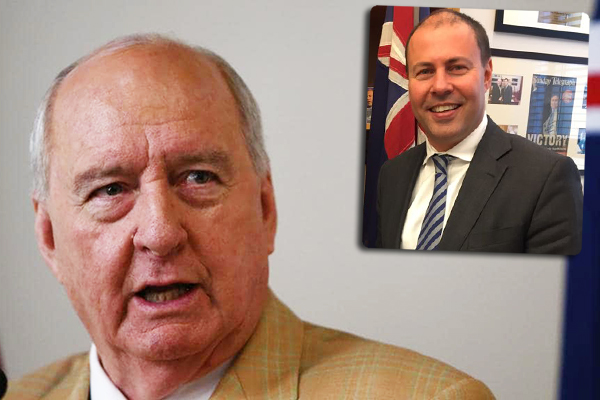 Alan Jones reveals the truth behind Energy Minister Josh Frydenberg