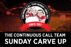 The Sunday Carve Up – May 20th, 2018