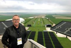 GALLERY | Chris broadcasts live from Villers-Bretonneux