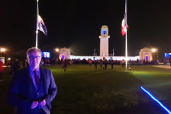 Chris hears the stories of Australians who've come to Villers-Bretonneux