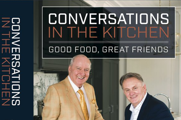 Alan Jones and Mark Latham launch their very own cookbook