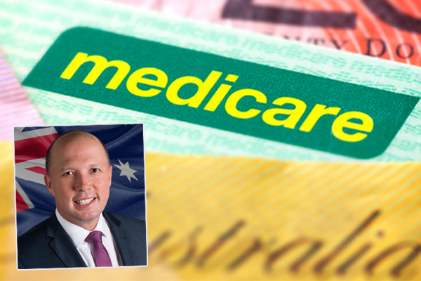 Dutton claims scrapped Medicare levy is a win for the government