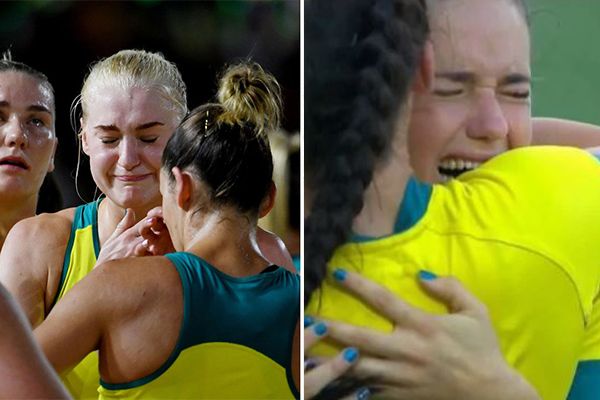 Article image for Heartbreak for the Aussies on the final day of the Comm Games