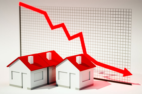 House prices continue to fall