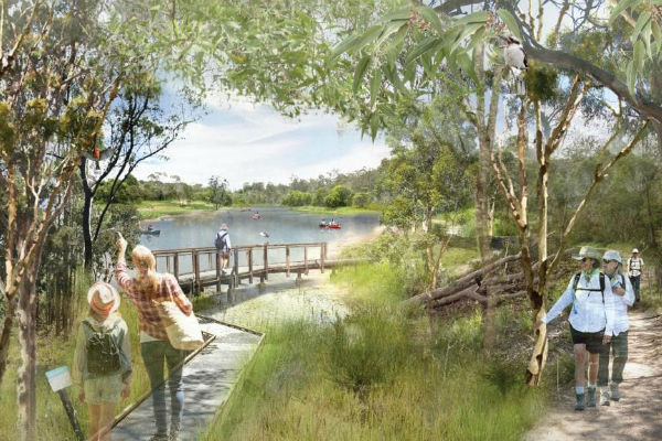 $100 million makeover to create Brisbane biggest parklands