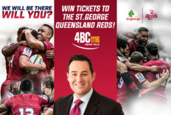 Win tickets to the St.George Queensland Reds!
