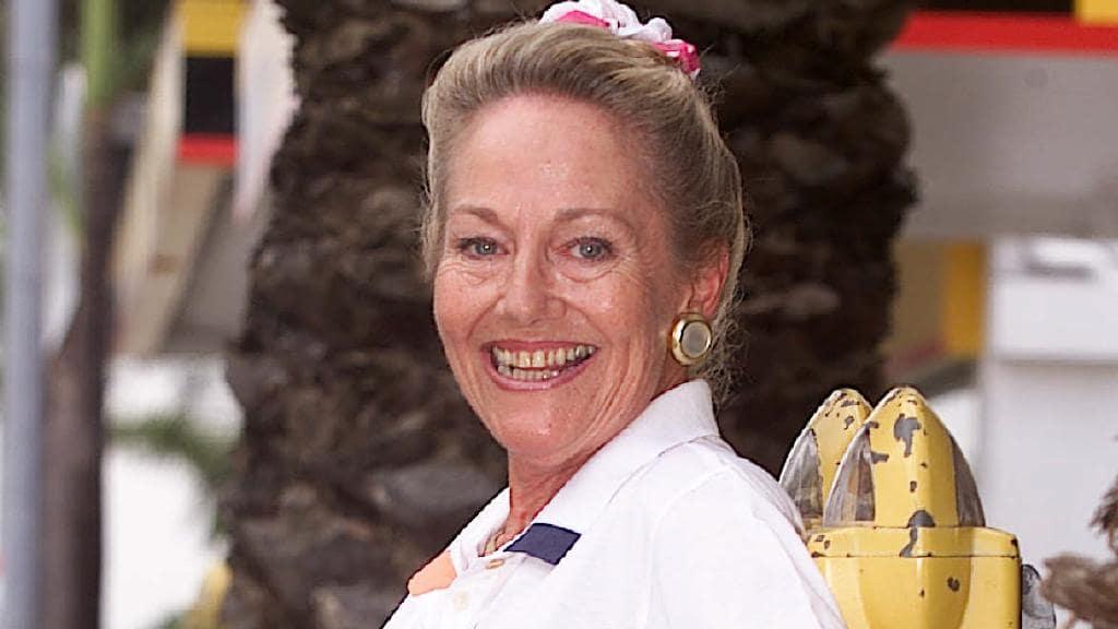 Farewelling original Meter Maid Annette Bryant