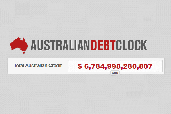 Article image for Liberal MP admits government debt is spiralling out of control