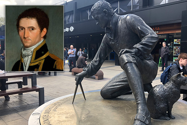 Article image for Suspected gravesite of great explorer Matthew Flinders could be under threat