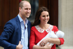 Duchess of Cambridge gives birth to healthy baby boy